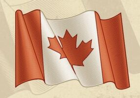Vintage-Flag-Of-Canada